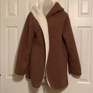Pink VS Sherpa reversible jacket XS/S